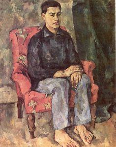 Portrait of a son,   Pyotr Konchalovsky