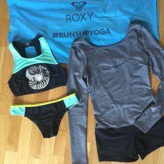 #runsupyoga gear from @roxy