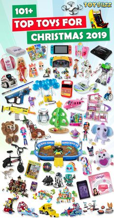 Top Toys For Christmas 2019 – List of Best Toys What are the top toys of 2019 for boys? With over 700 gift ideas for kids, here is the ULTIMATE gift guide to the Top Toys For Christmas Take a look … there's literally something for everyone on your list! Kids Toys For Christmas, Christmas Names, Christmas Gifts For Boys, Cool Gifts For Kids, Christmas Gift Guide, Kids Gifts, Christmas Fun, Christmas Presents, Holiday Fun