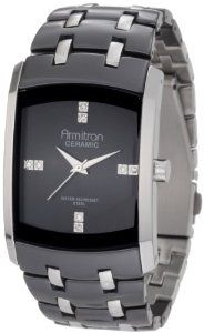 Reviews Armitron Men's 20/4792BKSV Swarovski Crystal Accented Ceramic and Stainless-Steel Bracelet Watch Special offers - http://greatcompareshop.com/reviews-armitron-mens-204792bksv-swarovski-crystal-accented-ceramic-and-stainless-steel-bracelet-watch-special-offers