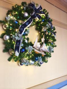 Wreath at Yacht Club