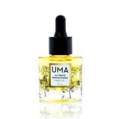 UMA ULTIMATE BRIGHTENING FACE OIL This triple-action brightening blend is rich in sandalwood and rose essential oils, which deliver rich hydration for a more luminous complexion, and is especially effective for those with dry skin. Vitamin-rich orange and neroli essential oils, along with rejuvenating frankincense essential oil, stimulate rapid cellular turnover to regenerate damaged skin cellBest Essential Oils