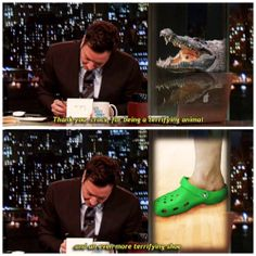 jimmy fallon writing thank you notes. ❤️