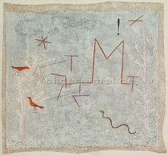Paul Klee 'Gartentor K.' (Garden Gate M) 1932 31 x 33 cm