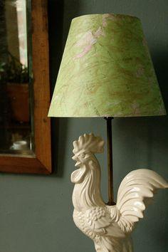 Map lampshade DIY project.