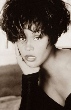 Whitney Houston, Legend, RIP by Black History Album, via Flickr....August 9, 1963 - February 11, 2012....RIP