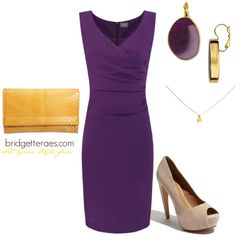 Purple Shift, created by bridgetteraes on Polyvore