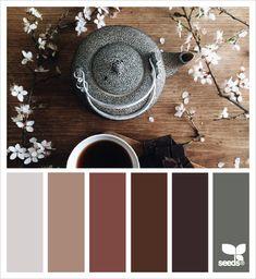 Ideas Home Color Palette Grey Design Seeds Colour Pallette, Color Palate, Colour Schemes, Color Combos, Color Patterns, Design Seeds, Decoration Palette, Colour Board, Color Swatches