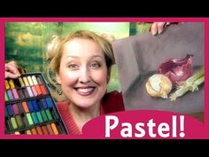 Beginner Pastel Painting Tutorial: Onions I am using inexpensive student quality pastels for this tutorial and a piece of smooth grey mat board. Chalk Pastel Art, Soft Pastel Art, Chalk Pastels, Pastel Drawing, Oil Pastels, Pinturas Color Pastel, Pastel Pencils, Art Tutorials, How To Use Pastels Tutorials