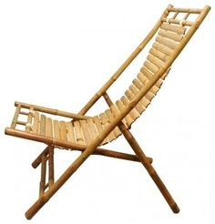 Handmade Bamboo Lounge Chair from Vietnam || Fair Trade Handicrafts from Ten Tho - contemporary - chairs - Ten Thousand Villages