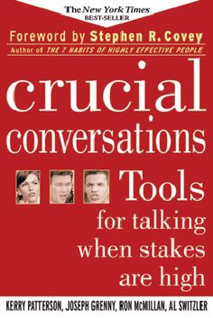 EDWorks Technical Assistance Coach Carolyn Rogers, PhD, reviews Crucial Conversations by Kerry Patterson, Joseph Grenny, Ron McMillan and Al Switzler.