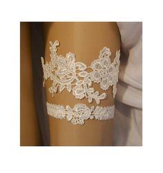Ivory Lace Wedding Garter Set, Ivory Lace Garter Set, Light Ivory Lace Bridal Garter Belt, Ivory Lace Bridal Garter Set, Vintage Style, IL* by SpecialTouchBridal on Etsy