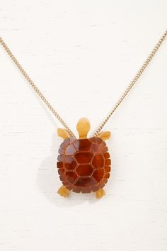 Tatty Devine Tortoise Necklace at Urban Outfitters