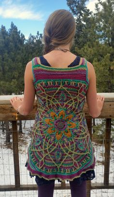 Hey, I found this really awesome Etsy listing at https://www.etsy.com/listing/215925375/overlay-crochet-mandala-vest