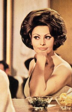Sophia Loren ~ A Countess from Hong Kong, 1967
