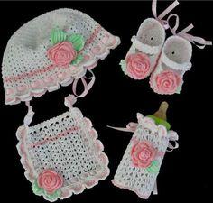 Abriana Baby Set Crochet Pattern