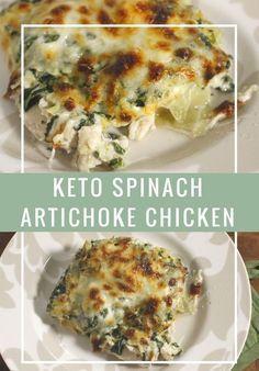Keto Spinach Artichoke Chicken!!! - 22 Recipe