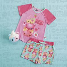 Give your Num Noms fan the perfect pajama party birthday gift! A scented PJ set and a Num Noms Surprise in a Jar scented plushie! The PJ's are available at Kohl's.