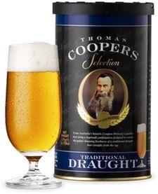 Traditional Draught Coopers - Cerveza de barril 1,7 kg - 23L