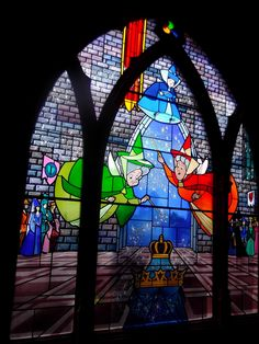 images of stained glass inside disney castle - Bing Images
