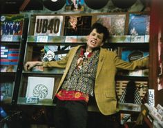 I love a good 80's film & I think this scene from pretty in pink is great!   Still of Jon Cryer in Pretty in Pink