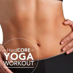 HardCORE Yoga!  #coreworkout #yoga