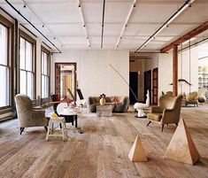 Yes please! Some Tuesday inspiration with this Soho Loft. @francoishalard @archdigest @somewhereiwouldliketolive.
