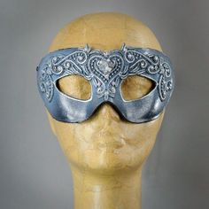 Winter Lace Frosted Columbina Masquerade Eye Mask with Swarovski cryst – Erik's Inspiration Masquerade Party, Mask Design, Faeries, Frost, Swarovski Crystals, Masks, Skull, Velvet, Gemstones