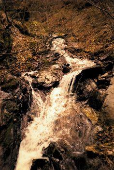 Waterfall by Carlos Borroni Kodak Film, Grand Canyon, Waterfall, Landscapes, Nature, Travel, Outdoor, Paisajes, Voyage