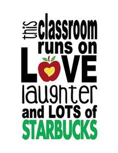 Image result for starbucks classroom theme