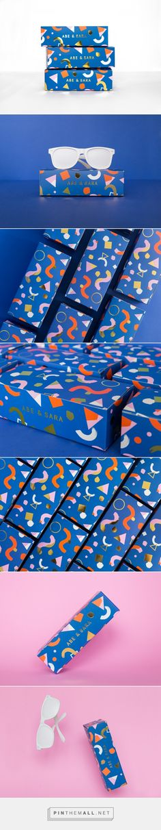 Abe & Sara Sunglass Box on Behance - created via https://pinthemall.net