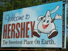 I have been to Hershey a few times, and it is a chocolate lover's dream!  I had my hubby drive up and down the road past the factory as they were cooking the chocolate one evening.  What a wonderful smell!  There's a visitor center that is everything chocolate, and well worth seeing.