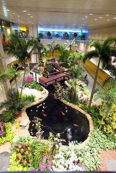 Orchideengarten  Quelle: Singapore Changi Airport