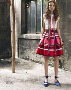 visual optimism; fashion editorials, shows, campaigns & more!: vlada roslyakova and naty chabanenko by asa tallgard for elle russia february...