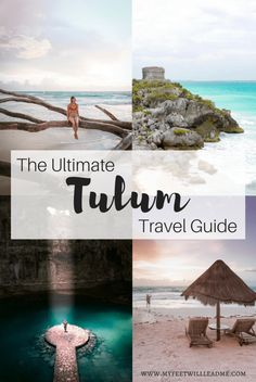 A Tulum, Mexico Travel Guide and Tulum Itinerary & My Feet Will Lead Me Cool Places To Visit, Places To Travel, Travel Destinations, Tulum Mexico, Mexico City, Mexico Vacation, Mexico Travel, Maui Vacation, Vacation Meme