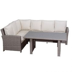 Pavia set Σαλόνι Τραπεζαρία κήπου rattan Wicker Rattan, Wicker, Dining Bench, Furniture, Home Decor, Decoration Home, Table Bench, Room Decor, Home Furnishings