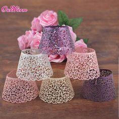 12 Pcs #White Cloud Hollow Out Cake Paper Wrap #Cupcake Wrapper Wedding Decor Birthday XMAS #Decoration Wholesales