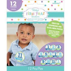 Check out Baby Boy Month Stickers | General Shower Supplies party supplies for your next birthday bash from Wholesale Party Supplies from Wholesale Party Supplies
