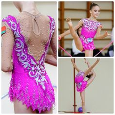 Leotard for a junior rhythmic gymnast (photo by Pawel.S)