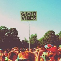 We're totally picking up some good vibes