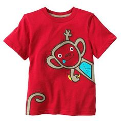 Jumping Beans Monkey Tee - Toddler $7