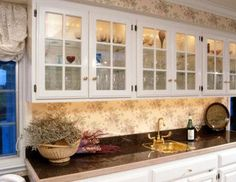 How To Make Oak Cabinets Look Like French Country