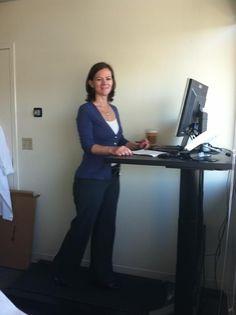 Treadmill Desk, Adjustable Height Desk, Suits, Model, Fashion, Moda, Fashion Styles, Scale Model