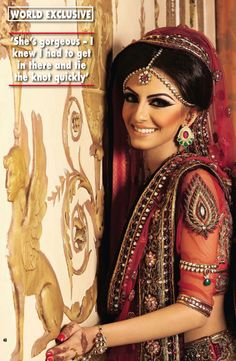 The very gorgeous Faryal M. Khan in her bridal wear