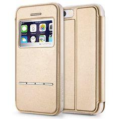 Coque iPhone 8 PLUS , iVAPO Coque pour iPhone 8 Plus en Cuir Prime iPhone 7  PLUS Coque TPU + PC Etui iPhone 7 PLUS en Cuir Véritable Housse iPhone 7  PLUS ... 3ea2d3d0198c