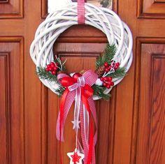 Grapevine Wreath, 4th Of July Wreath, Grape Vines, Christmas Wreaths, Holiday Decor, Home Decor, Christmas Swags, Homemade Home Decor, Holiday Burlap Wreath