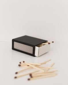 Matchbox Cover, schwarz