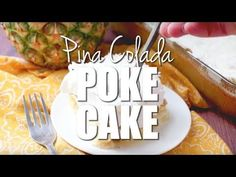 Pina Colada Poke Cake is made easy by using a butter boxed cake mix poked with cream of coconut. Topped with COOL WHIP and coconut! Poke Cake Recipes, Poke Cakes, Cupcake Cakes, Dessert Recipes, Dump Cakes, Bread Recipes, Pina Colada Cupcakes, Country Cooking, Box Cake
