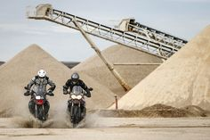 Comparativa trail: BMW F 800 GS Adventure vs Triumph Tiger 800 XC | Motociclismo.es Triumph Tiger 800 Xc, Trail, Bmw, Adventure, Industrial, Motorcycle, Industrial Music, Motorcycles, Adventure Game