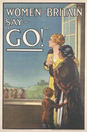 Women of Britain say - 'Go!', E.V. Kealey, 03.1915